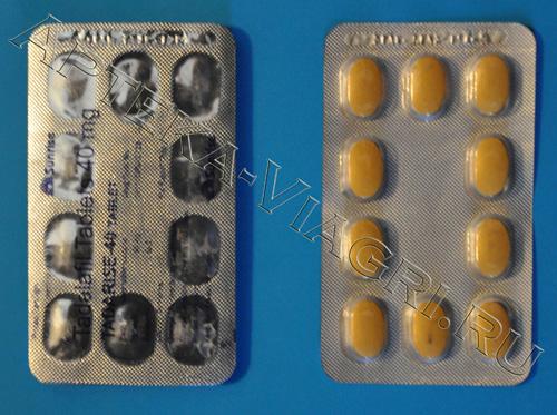 Сиалис 40 мг. (Sunrise)