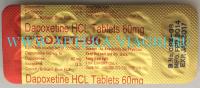 Дапоксетин 60 мг.